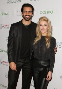 LOS ANGELES, CA - NOVEMBER 29: Model Nyle DiMarco (L) and actress Erin Gavin attend An Evening with Nyle DiMarco at the Sofitel Los Angeles At Beverly Hills on November 29, 2016 in Los Angeles, California. (Photo by Tasia Wells/WireImage)